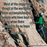 """Most Of The Important Things In The World"