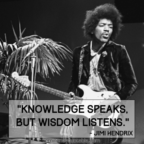Knowledge-speaks