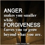 Anger Makes You Smaller…