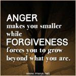 Anger Makes You Smaller…