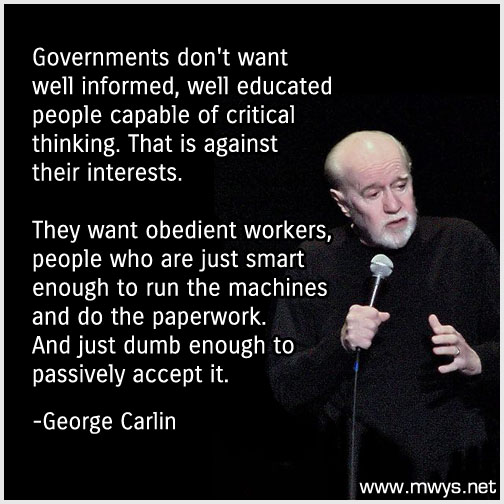 governments dont want well informed