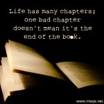 Life Has Many Chapters