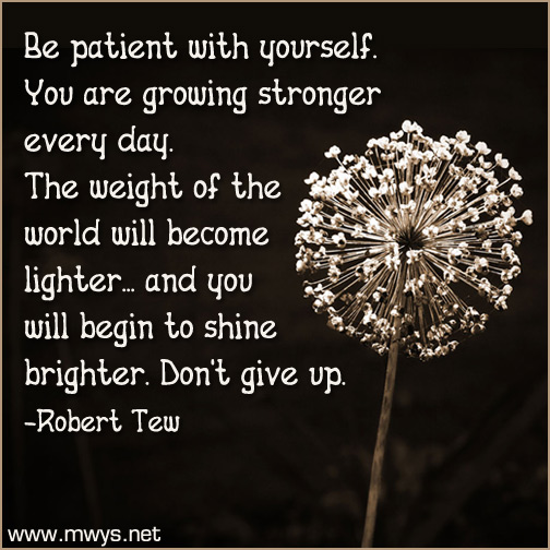 Be-patient-with-yourself