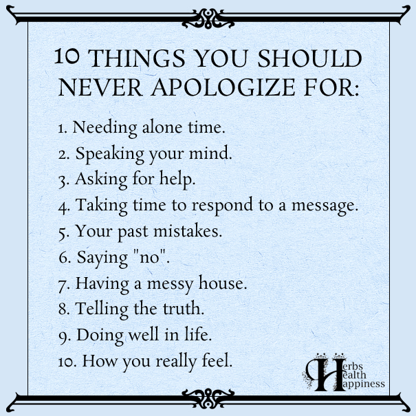10-Things-You-Should-Never-Apologize-For