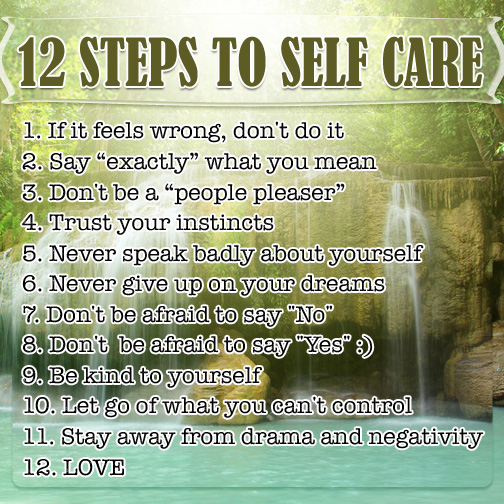 12-Steps-To-Self-Care