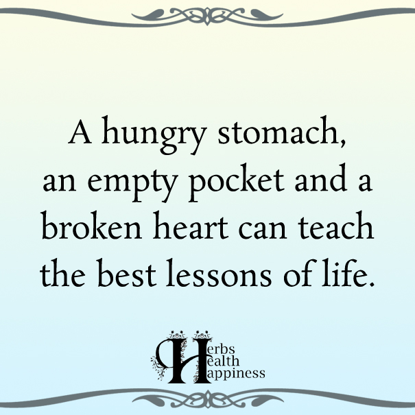 A Hungry Stomach, An Empty Pocket