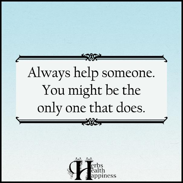 Always-help-someone