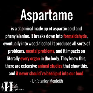 Aspartame Is A Chemical Made Up Of Aspartic Acid
