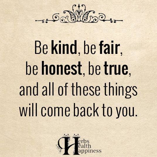 Be Kind Be Fair