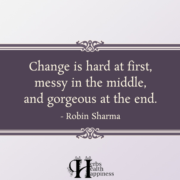Change Is Hard At First