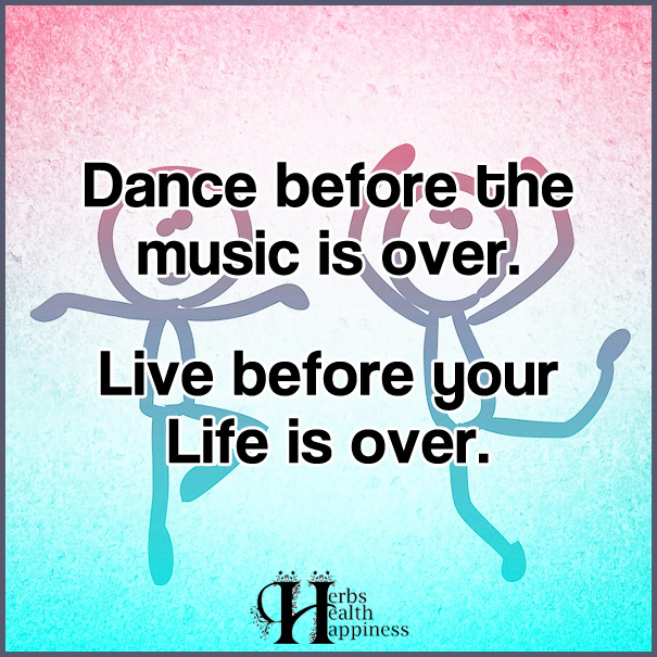 Dance Before The Music Is Over