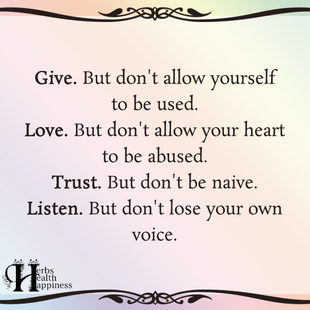 Give-But-Don't-Allow-Yourself-To-Be-Used