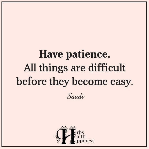 Have-patience