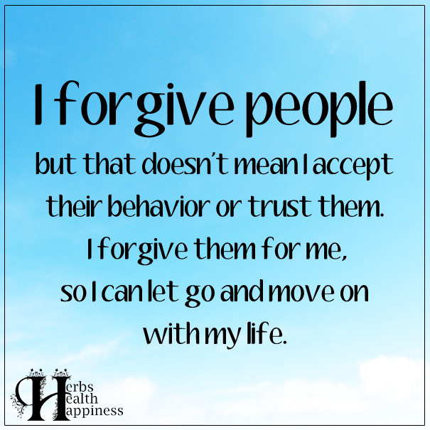 I-Forgive-People-But