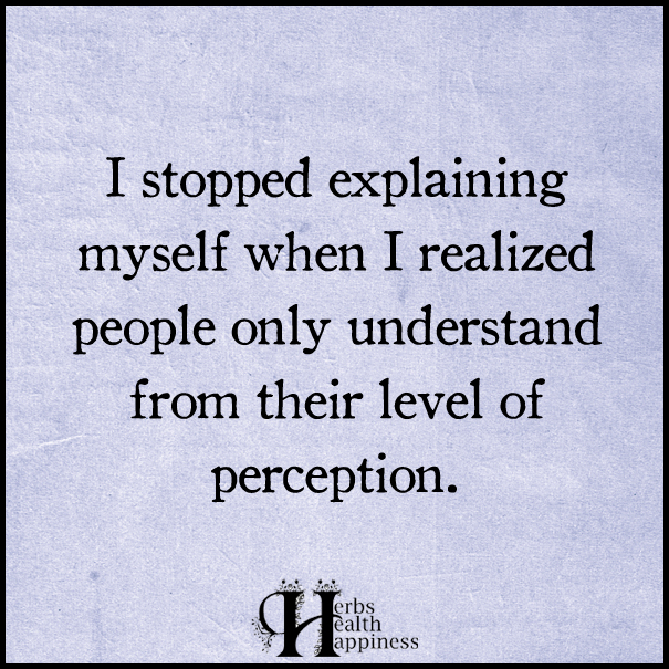 I-stopped-explaining-myself