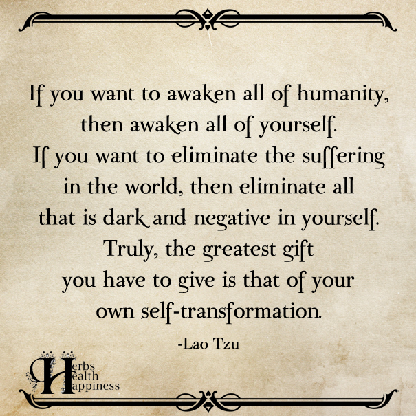 If You Want To Awaken All Of Humanity