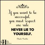 If You Want To Be Successful
