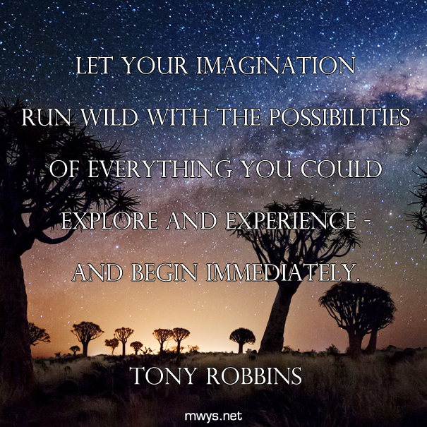 Let your imagination run wild with the possibilities