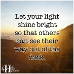 Let Your Light Shine Bright
