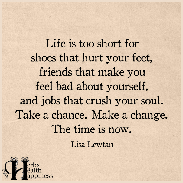 Life-Is-Too-Short-For-Shoes-That-Hurt-Your-Feet