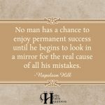 No Man Has A Chance To Enjoy Permanent Success