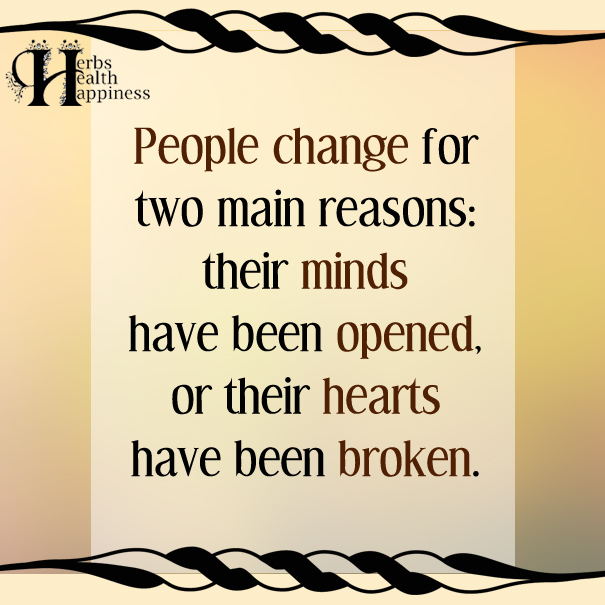 People-change-for-two-main-reasons