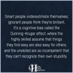 Smart People Underestimate Themselves