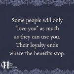Some People Will Only Love You