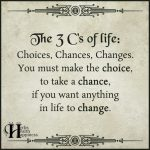 The 3 Cs Of Life