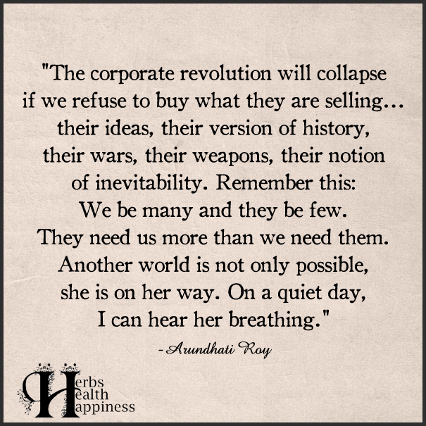 The corporate revolution will collapse