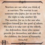 Warriors Are Not What You Think Of As Warriors