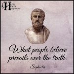 What People Believe Prevails Over The Truth