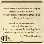 Endeavor Not