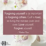 Forgiving Yourself Is As Important