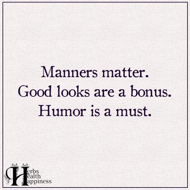 Manners-matter