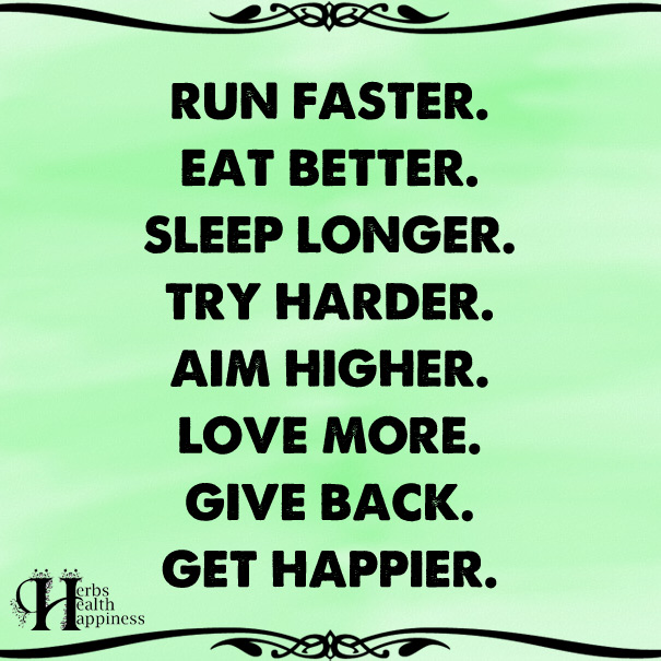 Run Faster Eat Better