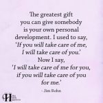 The Greatest Gift You Can Give Somebody