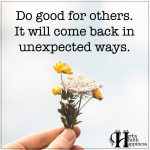 Do Good For Others