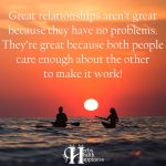 Great Relationships Aren't Great Because They Have No Problems