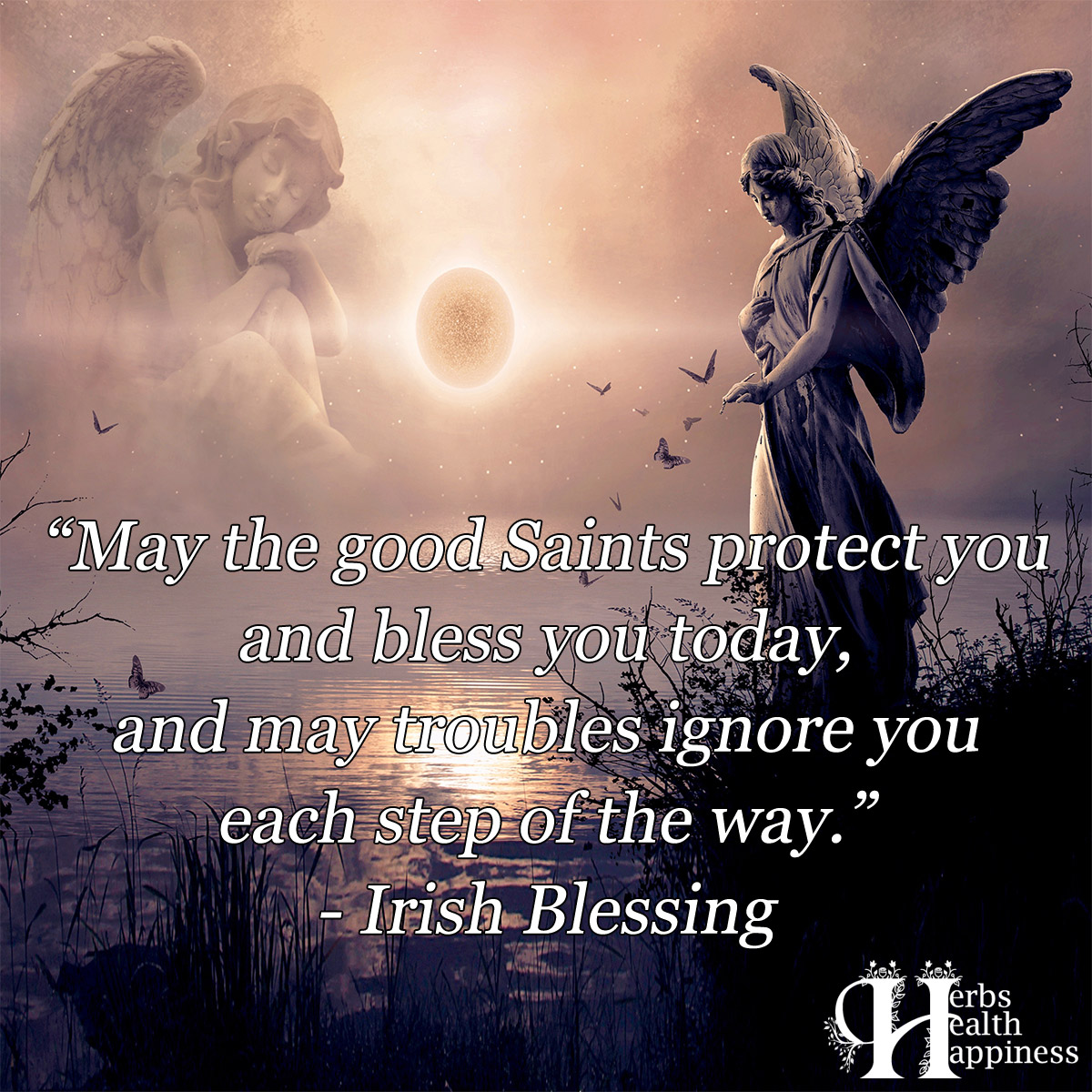 May The Good Saints Protect You