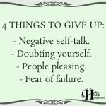 4 Things To Give Up