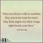 May You Always Walk In Sunshine