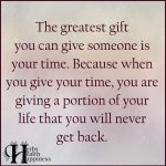 The Greatest Gift You Can Give Someone