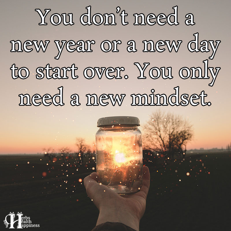 You Dont Need A New Year Or A New Day To Start Over