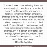 You Don't Ever Have To Feel Guilty About Removing Toxic People