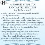 5 Simple Steps To Fantastic Success