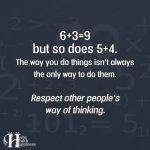 6+3=9 But So Does 5+4