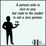 A Person Who Is Nice To You