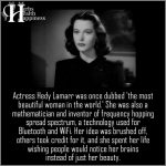 Actress Hedy Lamarr Was Once Dubbed The Most Beautiful Woman In The World