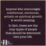 Anyone Who Encourages Intellectual, Emotional, Artistic, Or Spiritual Growth
